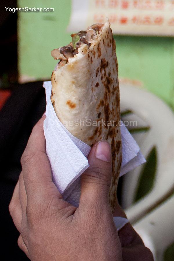 falafel-roll
