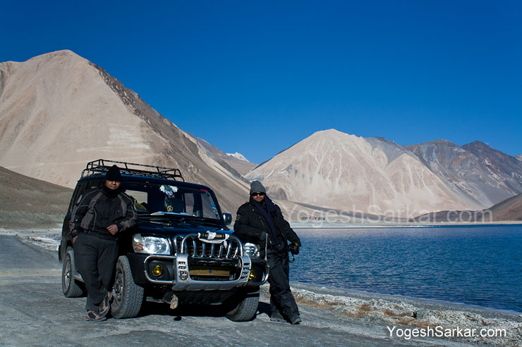 Me and Rahul Ladakh in December 2011