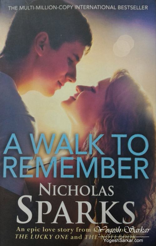 novel walk to remember A walk to remember is a novel by american writer called : nicholas sparks, released in october 1999 the novel, set in the mid-1950s in beaufort, north carolina.