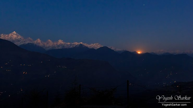 Panchchuli Sunset and Moonrise Time-Lapse