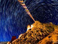 How I photographed Tsemo Gompa Star Trail