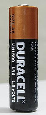 duracell aa alkaline battery