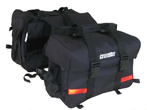 cramster colt saddle bag for indian motorcycles