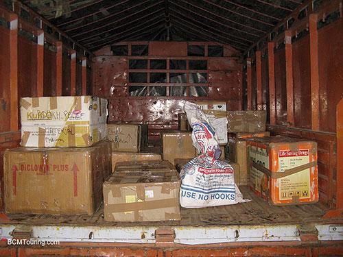 medicines-in-truck