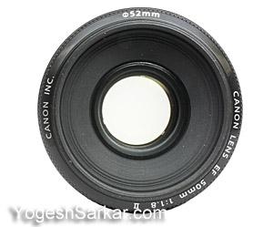 canon ef 50mm f.8 lens