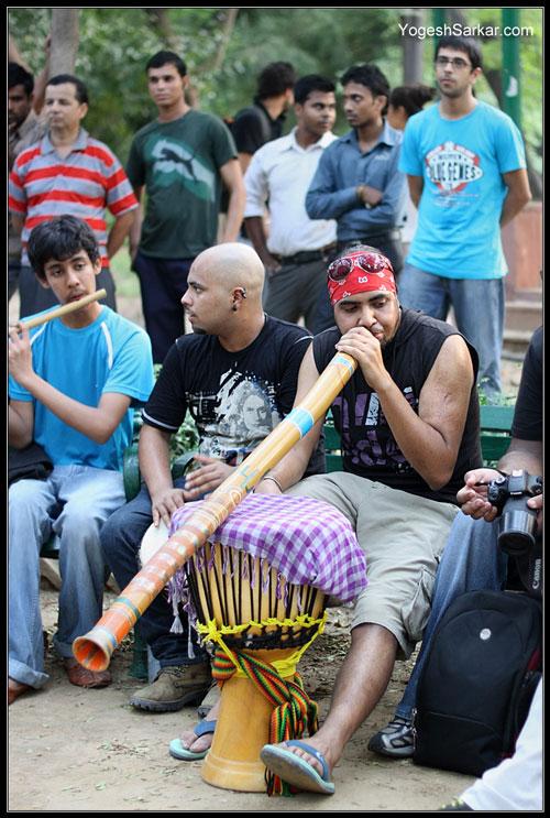 delhi-drum-circle