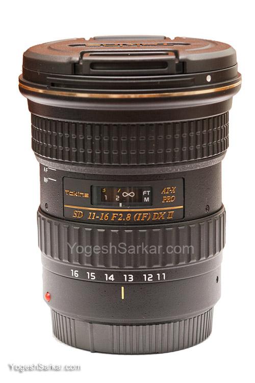 Tokina AT-X 116 PRO DX II AF 11-16mm f/2.8 lens