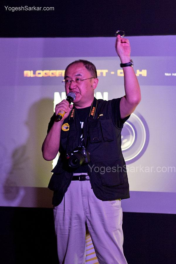 Mr. Hiroshi Takashina, MD Nikon India