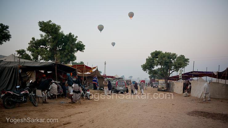 Hot Air Balloon Safari at Pushkar