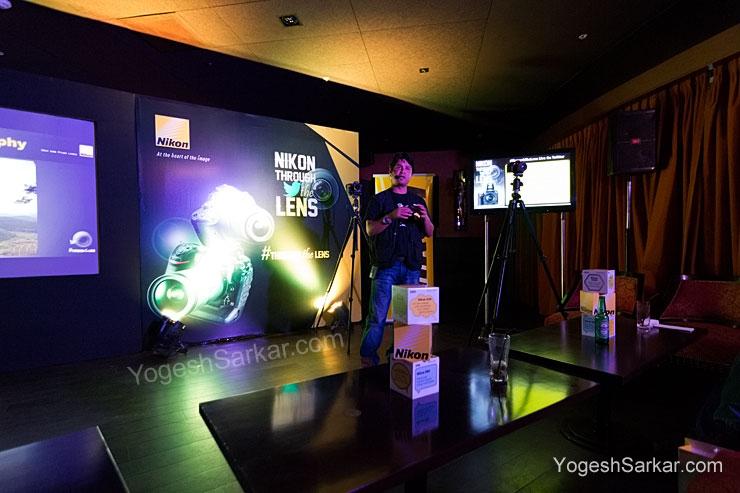 Abhishek Singh, Nikon Technical Team at Nikon Through The Lens