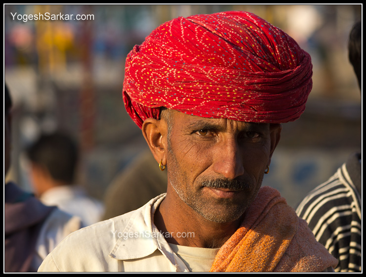 rajasthani-villager-at-pushkar