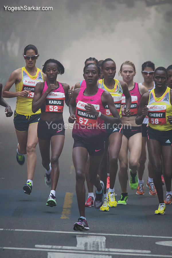 airtel delhi half marathon women elite