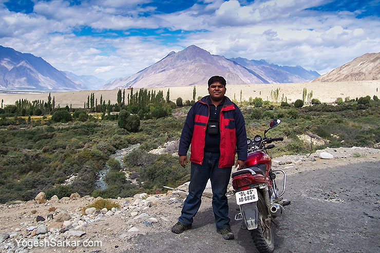 yogesh-sarkar-in-nubra-valley-ladakh