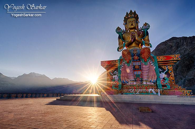 maitreya-statue-diskit