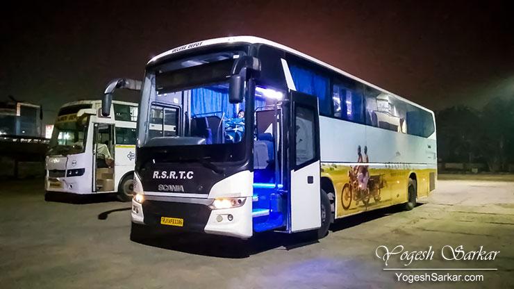 Why you should never take an RSRTC Bus! - YogeshSarkar.com