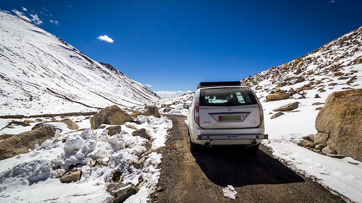 How-to travel from Nubra to Pangong Tso
