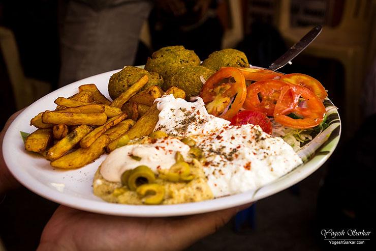 falafel-platter