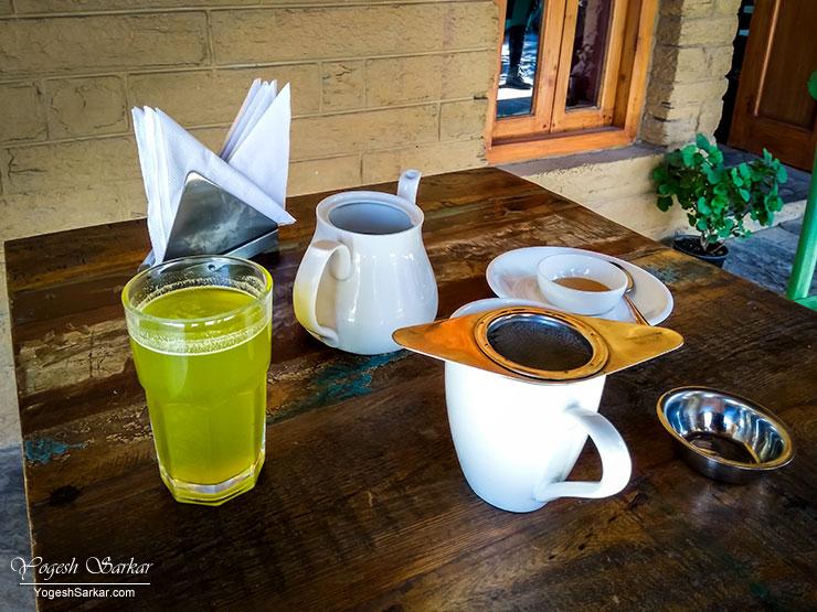 pudina-nimbu-paani-tulsi-rhododendron-tea