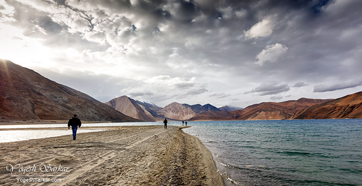 Lake beautiful, Pangong Tso
