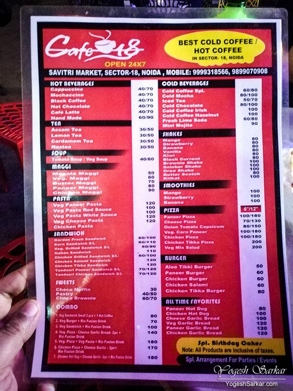 cafe-18-menu