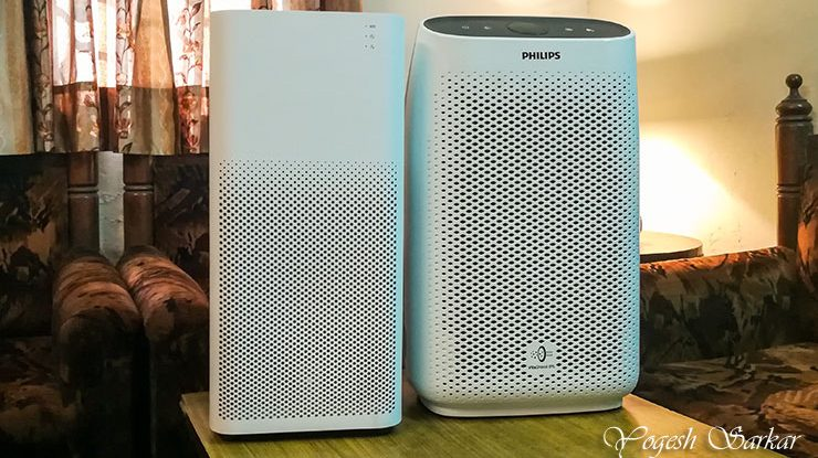 Mi Air Purifier 2, initial impression and comparison with Philips Air Purifier