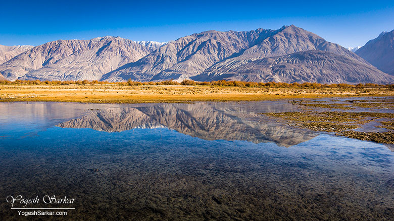 Along the road to Diskit, Nubra Valley