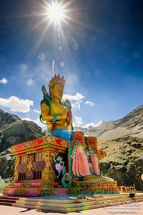 Maitreya-Statue-nubra-valley
