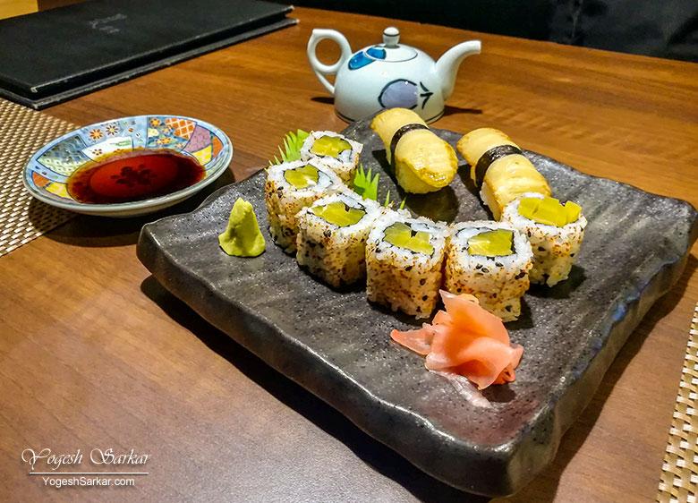 Oshinko-Maki-Sushi-Grilled-Bamboo-Shoot-Nigiri-sushi