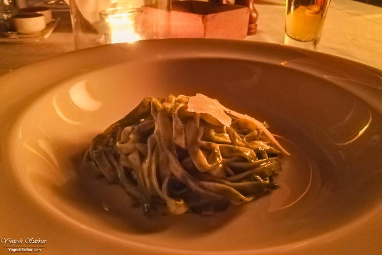 Homemade Tagliatelle Pasta
