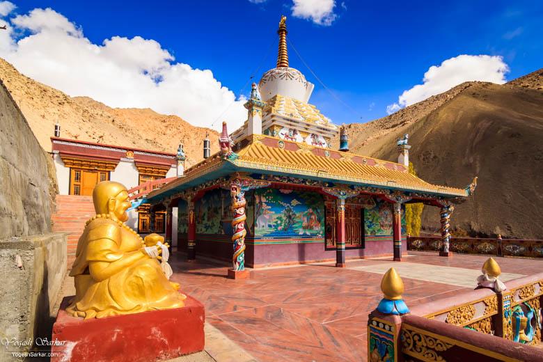 Tserkarmo-monastery