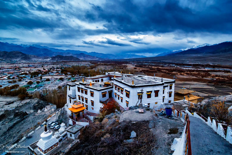 spituk-monastery-view