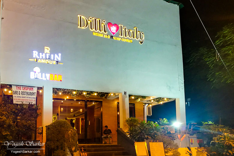 Dilli Ton Italy Sounds Like A Fusion Restaurant Offering Italian Cuisines With An Indian Touch And They Do However Apart From