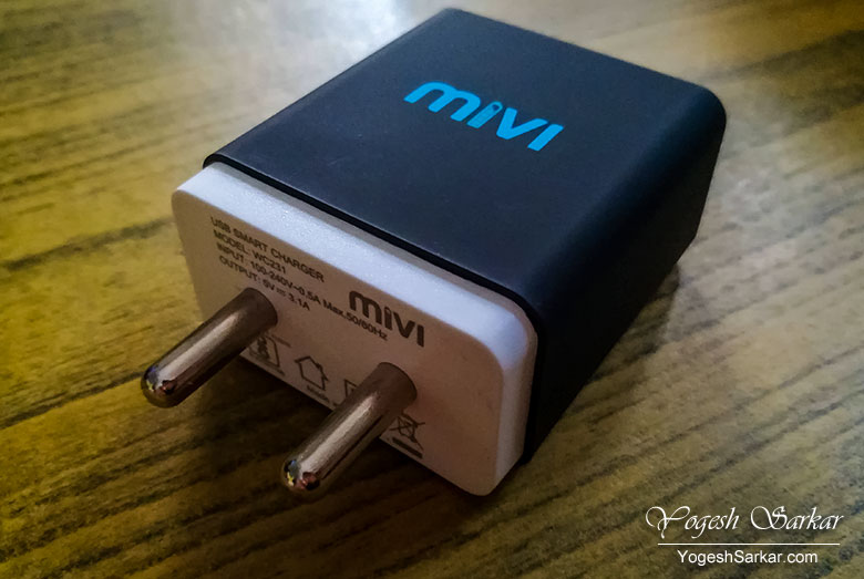 Mivi Dual USB Charger