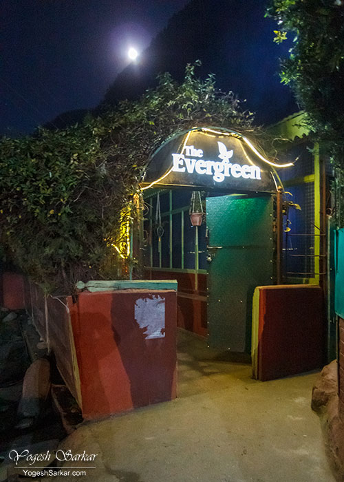 evergreen cafe kasol