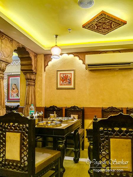 ghoomar restaurant cp