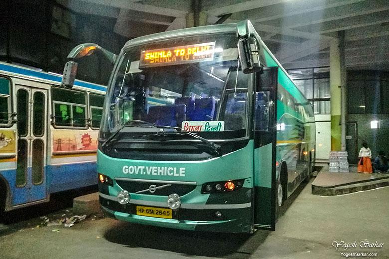 delhi-to-shimla-bus